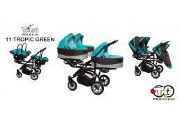 BABY ACTIVE Trippy Premium 11 tropic green/black 2019 s autosedačkou
