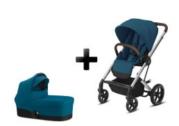 CYBEX Balios S Lux Silver Set river blue 2021 2v1