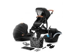 KINDERKRAFT Prime black 2020 3v1