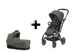 CYBEX Eezy S Twist+ 2 Set soho grey 2020 2v1